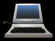 Ungewöhnlicher Computer Stockbild