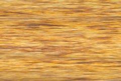 Ungewöhnlicher Hintergrund in den gelben und braunen Farben (unscharfe Linien) Stockfotografie