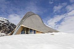 Ungewöhnliches Dachdetail Stockbilder