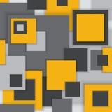 Ungewöhnliches modernes materielles quadratisches Design des Hintergrundes Lizenzfreies Stockfoto