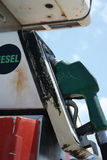 Ungezwungenheits-Tankstelle stockfoto