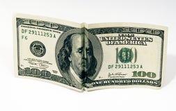 Unglücklicher Franklin lizenzfreie stockfotos