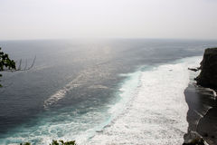 Unglaubliche Farbe in dem Meer Stockbilder