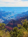 Unglaubliche Landschaft von Grand Canyon von der Nordkante, Arizona, US Stockbilder