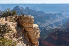 Unglaubliche Landschaft von Grand Canyon von der orth Kante Stockfotos