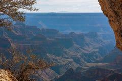 Unglaubliche Landschaft von Grand Canyon von der orth Kante Lizenzfreies Stockbild