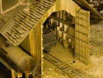 Unglaubliches Detial für ein Baumuster   Stockfotos