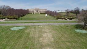 Ungraded antena zbliża się Nelson muzeum zbiory wideo