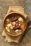 Ungrare Babgulyas Bean Soup arkivfoton