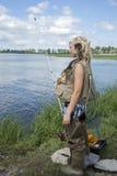 Ungt kvinnafiske arkivbilder