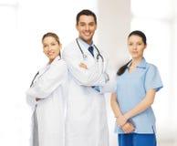 Ungt lag eller grupp av doktorer royaltyfri bild