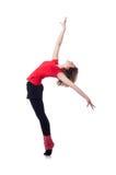 Ungt öva för gymnast Arkivfoton
