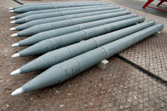 Unguided πύραυλοι Στοκ Εικόνες