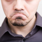 Unhappy Stock Image