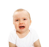 Unhappy baby Stock Photos