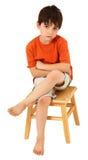 Unhappy Boy Stock Photography