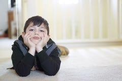 Unhappy Boy Stock Images