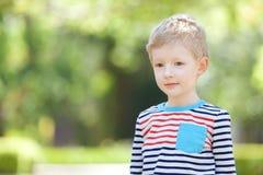Unhappy boy Royalty Free Stock Photos