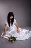 Unhappy bride Royalty Free Stock Photos