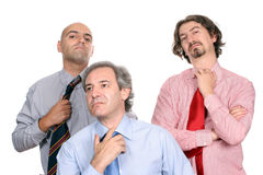 Unhappy business team Stock Images