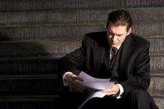 Free Unhappy Businessman Royalty Free Stock Photos - 7319628