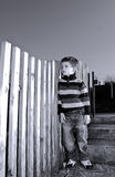 Unhappy child Stock Images