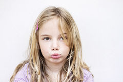 Unhappy child Stock Photos