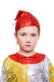 Unhappy clown stock image