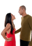Unhappy couple Royalty Free Stock Images