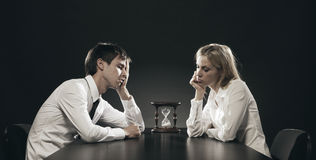 Unhappy Couple Royalty Free Stock Image