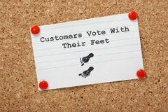 Unhappy Customers Concept Royalty Free Stock Photography