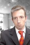 Unhappy executive Royalty Free Stock Photography