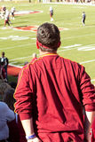 Unhappy Florida State Football Fan Royalty Free Stock Photography