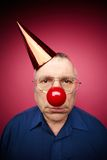 Unhappy fool�s day Stock Images