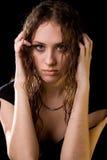 Unhappy girl Stock Photos