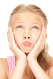 Unhappy girl Royalty Free Stock Photo