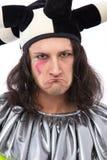 Unhappy joker Stock Photography