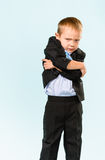 Unhappy little boy Royalty Free Stock Image