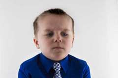 Unhappy little guy Royalty Free Stock Image
