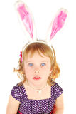 Unhappy little rabbit Royalty Free Stock Image