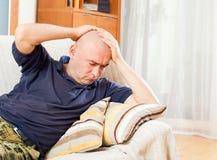 Unhappy man Stock Photography