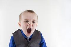 Unhappy manager Stock Photos