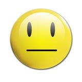 Unhappy smiley Stock Photo