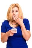 Unhappy Woman Royalty Free Stock Photo