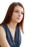 Unhappy young woman Royalty Free Stock Photography