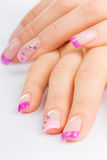 Unhas Foto de Stock Royalty Free