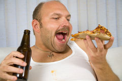 Unhealthy behaviour royalty free stock image