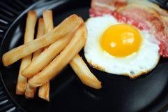 Unhealthy breakfast Stock Photos