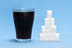 Unhealthy drink Stock Photography