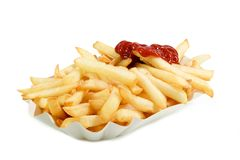 Unhealthy eating Royalty Free Stock Image